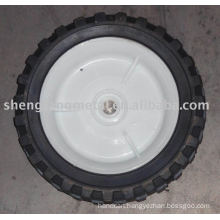 semi-pneumatic rubber wheel 6'' *1.5''