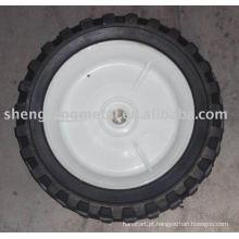 roda de borracha semi-pneumática 6 '' * 1.5 ''