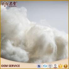 Fibra de cachemira cruda de cachemira interna Dehaired China lana de cabra y fibra de cachemira