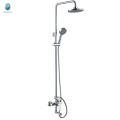 KDS-07 foshan market with 1.5m tube head shower watermark upc certificate bathroom shower kit