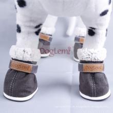 Heißer Verkauf Winterstiefel für Hund Billig Warm Pet Schuhe