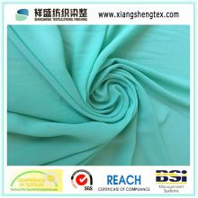 150 Tissu en mousseline de soie vert pour robe