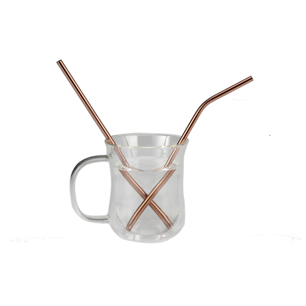 Healthy Food Grade Stainless Steel Straws