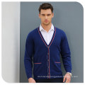 Wholesale Button Cardigan Style 100% Man Cashmere Sweater