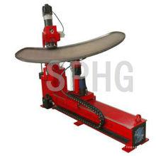 Machine de pliage de tête de réservoir de forme libre