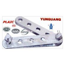 galvanisierter Stahl Justierplatte elektrische Oberleitung, die elektrische transmision Linie passt, Energiezubehör