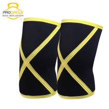 Sporttraining Geschützte Knie Kompressionsmanschette