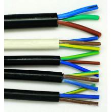 3 жильный многожильный гибкий электрический кабель