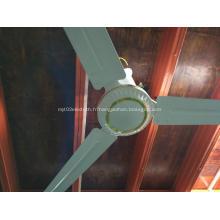 Ventilateur de plafond DC 12V56 avec coque en métal
