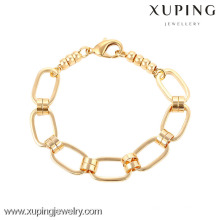 74162- Xuping Fashional Jewelry Design Simples Link Pulseira