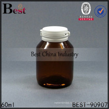 2 унции янтарные стеклянные бутылки, коричневый фармацевтические медицинские пилюльки бутылки отрывная крышка бутылки, бесплатные образцы
