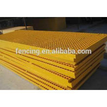 Suministro de rejillas de acero galvanizado, cubierta de zanja, escaleras, cercas, rejas de barras