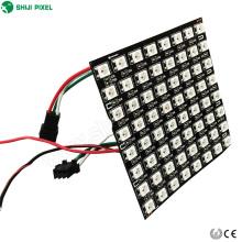de boa qualidade matriz flexível do diodo emissor de luz ws2812b do pixel de SMD5050 RGBW SK6812 P10 8x8cm