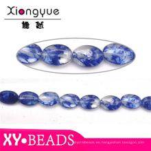 Piedra y joyería de perlas de gema zafiro natural