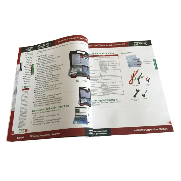 Cheap Custom Products Instruction User Manual Printing