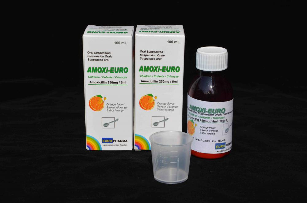 Amoxicillin for Oral Suspension BP 500mg/5ml