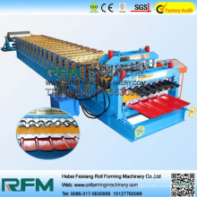FX classical style double layer roof sheets rolling forming machines