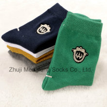 Policía patrón bebé algodón calcetines