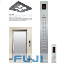 Ascenseur de passager avec ligne de cheveux en acier inoxydable