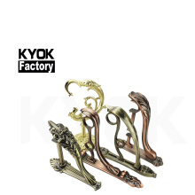 KYOK 28*22mm adjustable curtain rod bracket metal strong decor curtain rod bracket double  D910