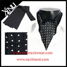 Popular Men Silk Print Ascot Cravat Tie