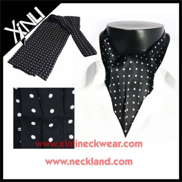 Popular Men Silk Print Ascot Cravat Tie