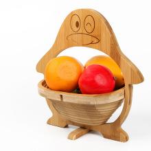 canasta de frutas con forma de manzana de buena calidad