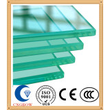 Clear Tempered Glass with ISO9001 and CCC