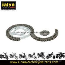 Pignon et chaîne à moto pour Italika Forza 125 38t / 15t, 428X108L