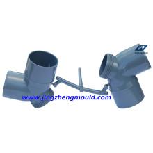 Molde de montaje de tubería de codo de PVC 63 mm con acero 2316