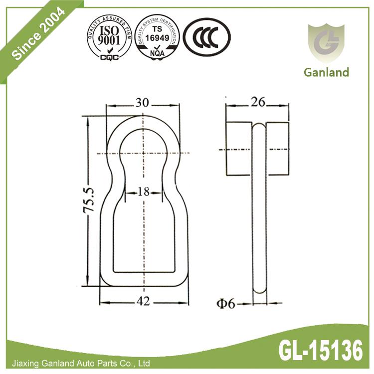 Stainless Steel roller gl-15136