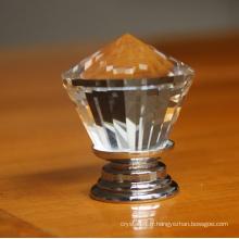 2016 nouveau bouton en verre de cristal clair de 30mm pour la décoration à la maison