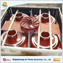 Turbine de pièces de pompe de boue, roue centrifuge Turbine de pièces de pompe de boue, roue centrifuge