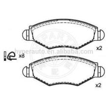 425228 brake pads for Peugeot 206 (SW/hatch)
