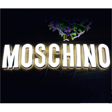 Cartas de canal retroiluminadas Led Sign con letras