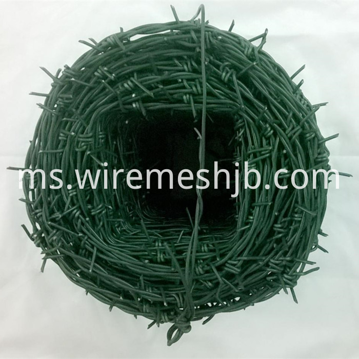 Vinyl Coated Barbed Wire