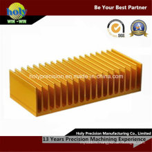 CNC Parts Machining Aluminum Heat Sink with Milling Servic