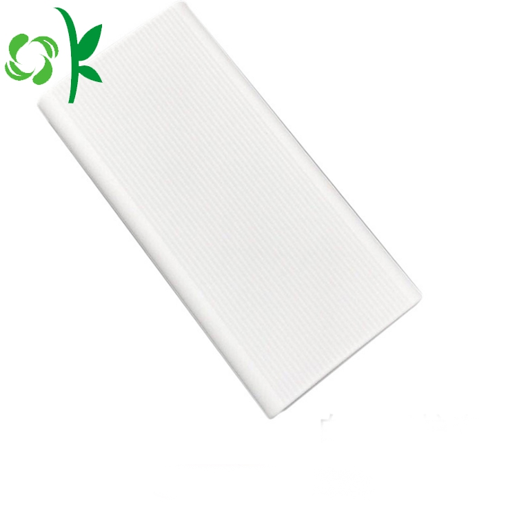 Silicone Poewerbank Cover White