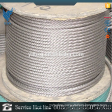 Best price 7*7 AISI 304 plastic coated stainless steel wire rod