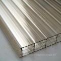 folha de telhado translúcido pc para sistema de iluminação natural