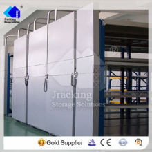 Jracking hardware selective Q345 hot dipped galvanized storage mobile filing shelf
