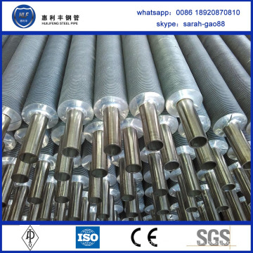 High Frequency aluminum fin tube coil