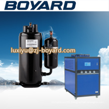 Industrial water chiller with 1ph 220v-240v/50hz ac compressor scrap for home air conditoner