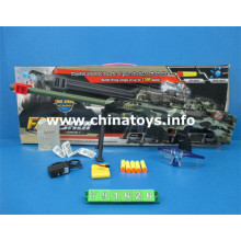 New Plastic Toys B/O Gun with Water Bullet/Soft Bullet (791626)