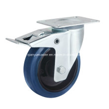 Rubber Wheel Iron Core Europe Industrial Caster