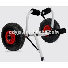 chariot de kayak avec béquille en u et pare-chocs mousse souple YJX02009