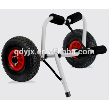 kayak cart with U-shape kickstand and soft foam bumpers YJX02009