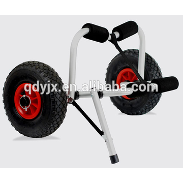 kayak cart with U-shape kickstand and soft foam bumpers YJX02009