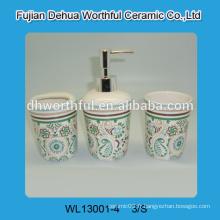 Ensemble d'accessoires de salle de bains en céramique unique fabriqué en Chine