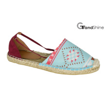 Women′s Casual Espadrille Flat Shoes